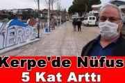 Kerpe'de Nüfus 5 Kat Arttı